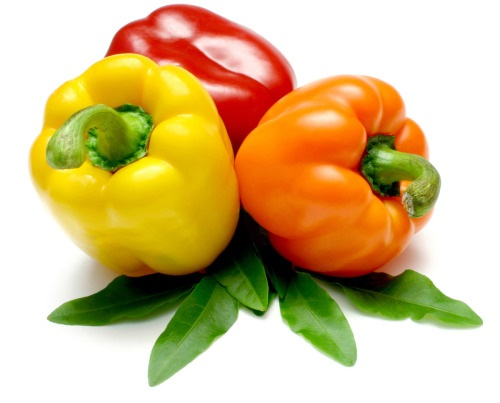 Bell Pepper colors